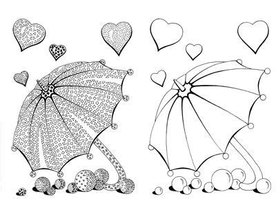 Valentínske dáždniky