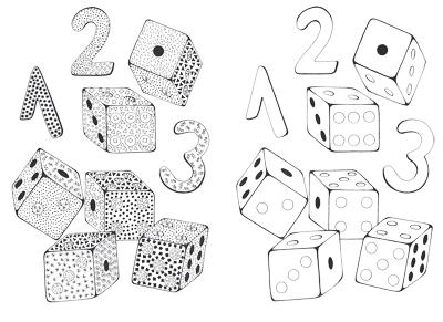 Kocky a čísla